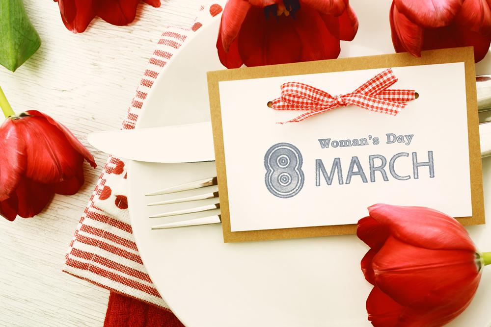 International Women's Day - gift ideas for an original day.