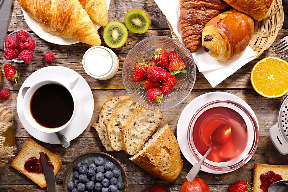 Voglia di croissant a colazione? <br>Te li portiamo noi!