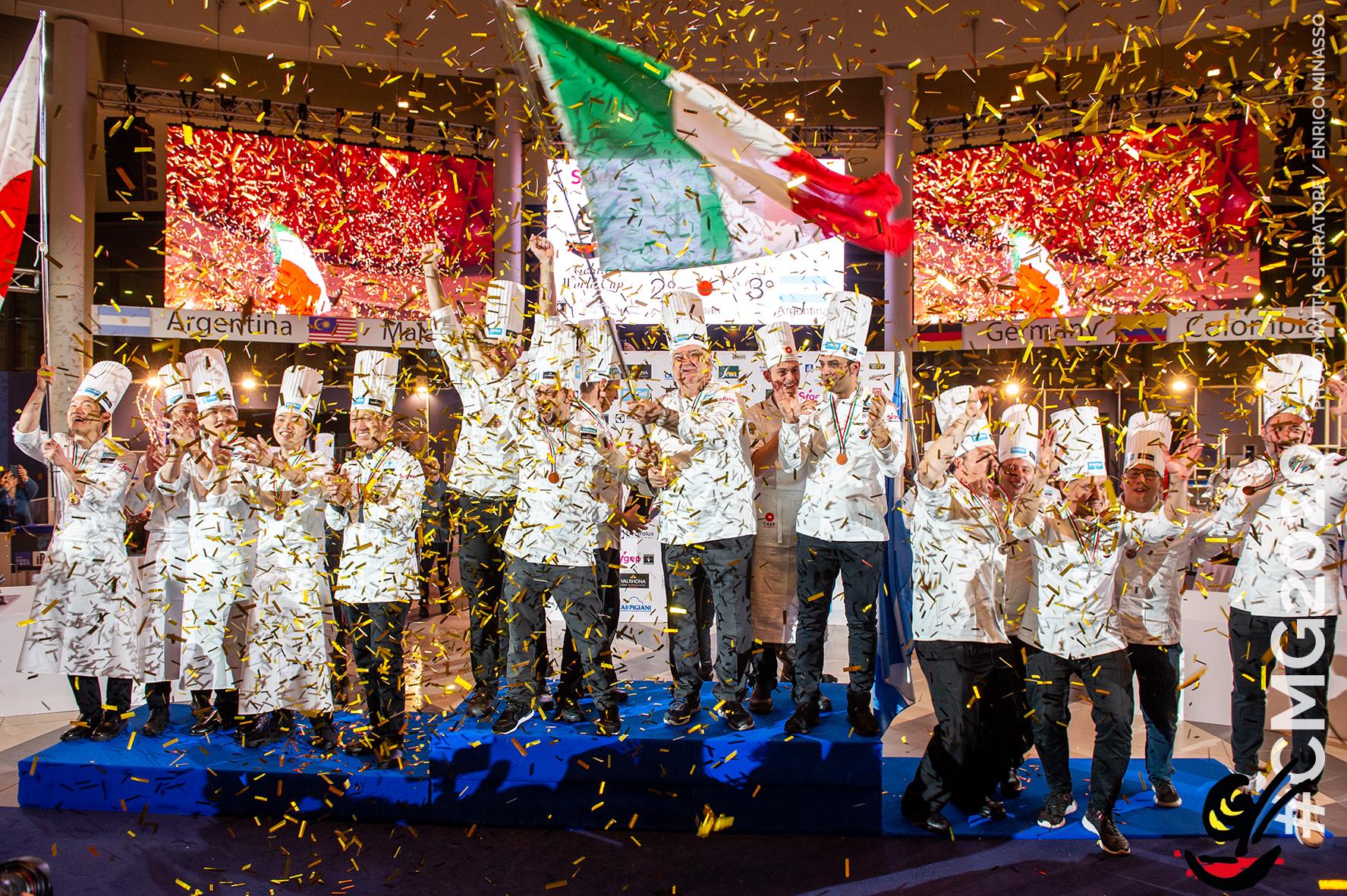 Coppa del Mondo di Gelateria 2020, Italia medaglia d'oro